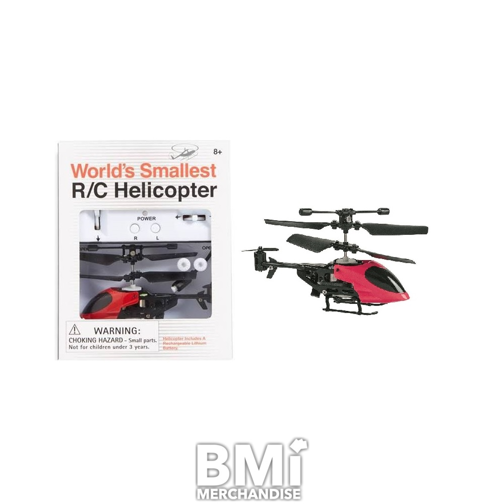 worlds smallest remote control helicopter