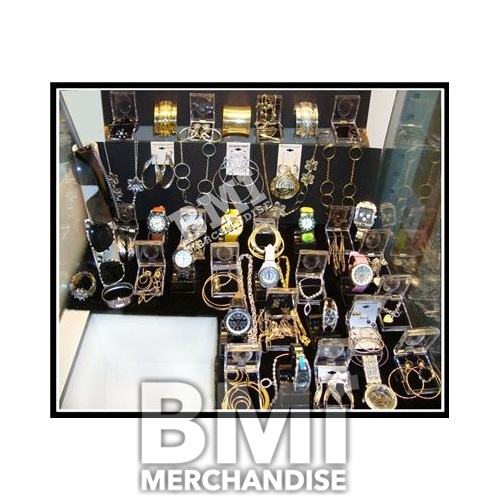 50PC 50/50 WATCHES/BLING JEWELRY TREASURE CRANE KIT
